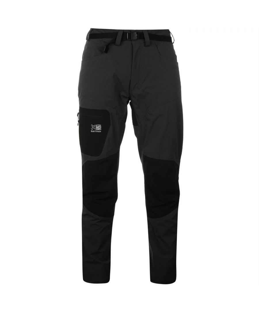 Image for Karrimor Mens Hot Rock Trousers Lightweight Waterproof Pants Casual Bottoms