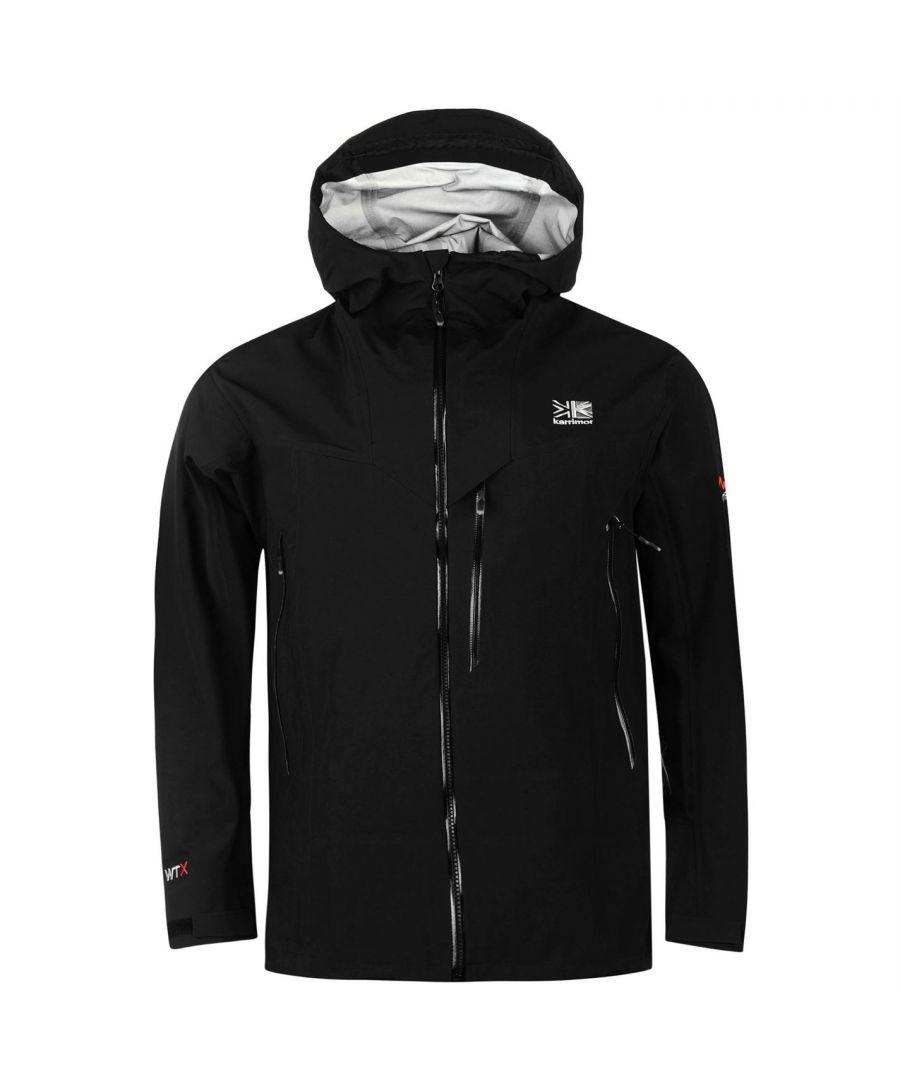 Image for Karrimor Mens Hot Rock Jacket Waterproof Windproof Breathable Hooded Full Zip