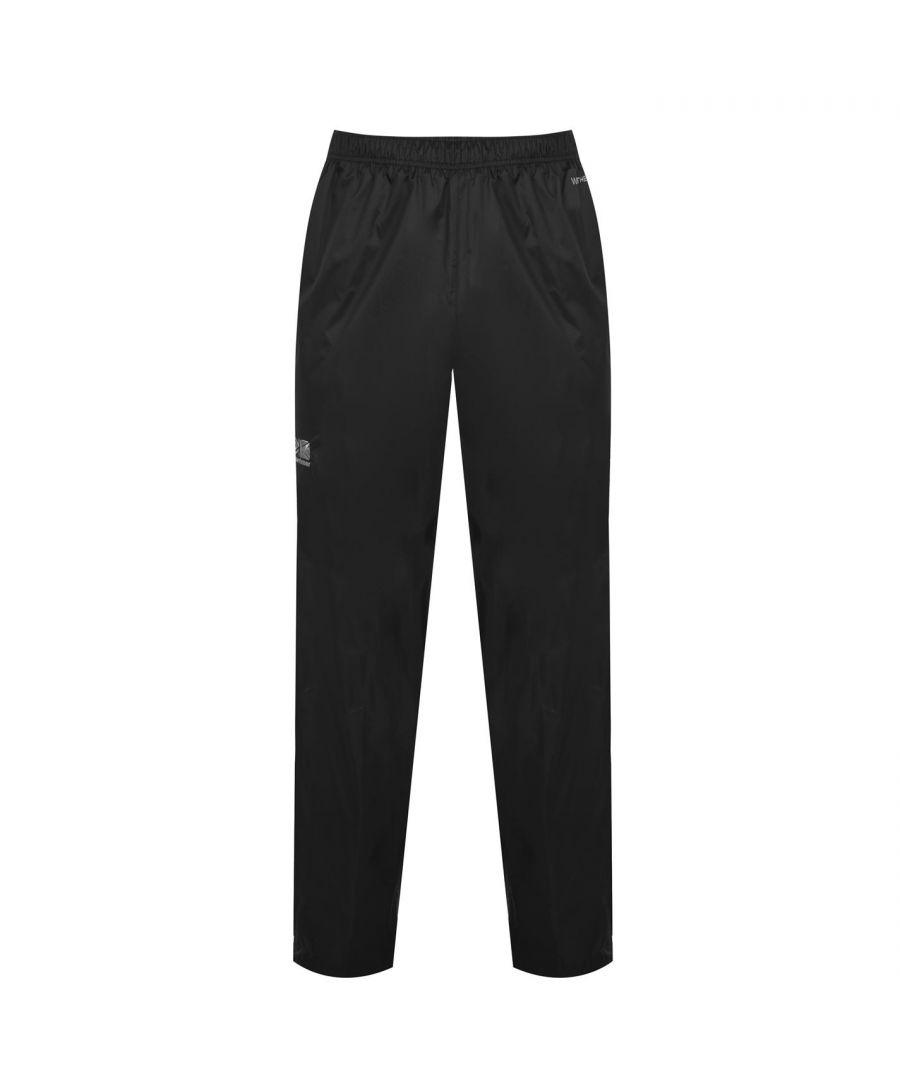 Image for Karrimor Mens Sierra Pants Infants Waterproof Trousers Outdoor Lightweight New