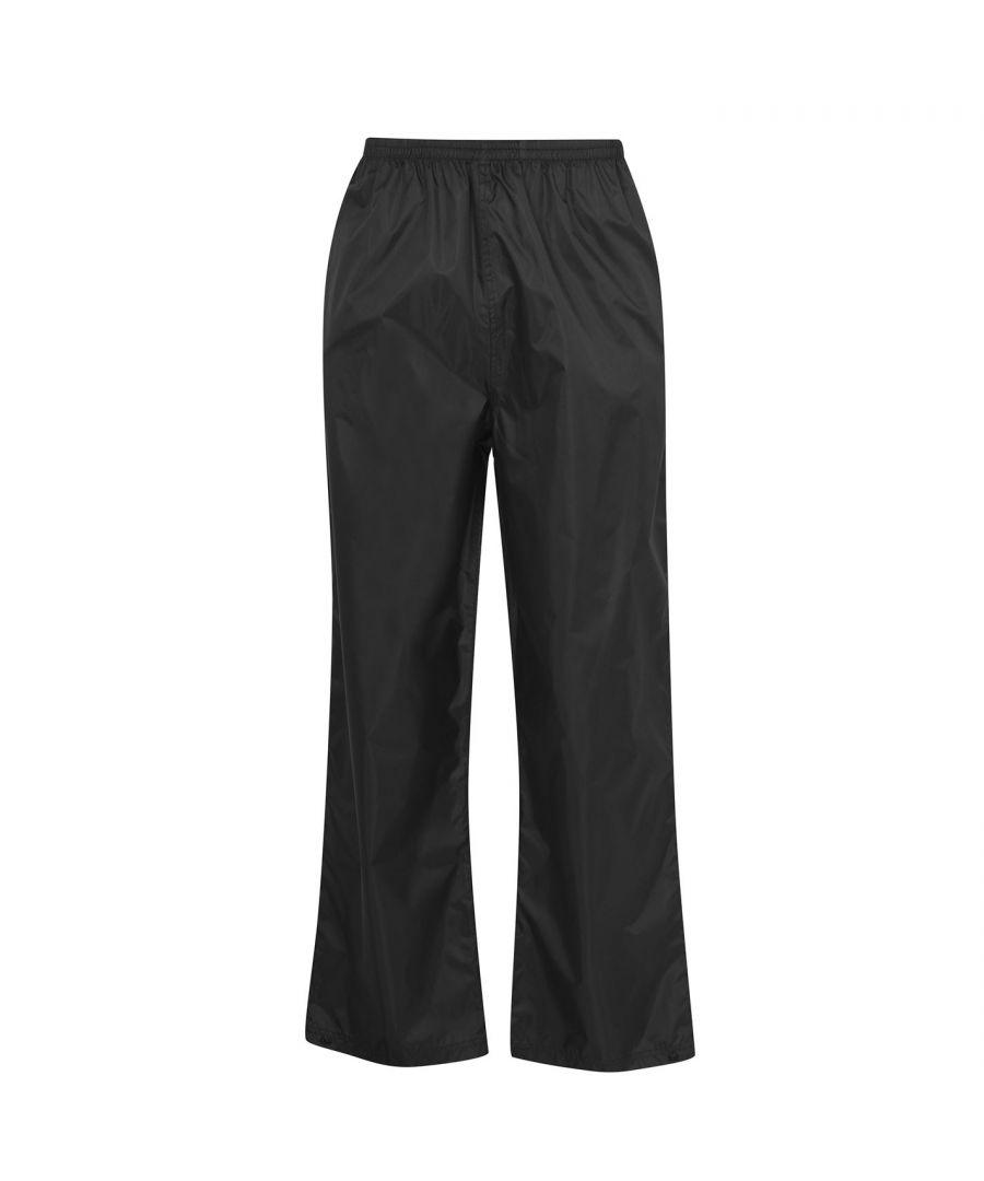 Image for Gelert Mens Gents Packaway Trousers Pants Waterproof Pockets Breathable