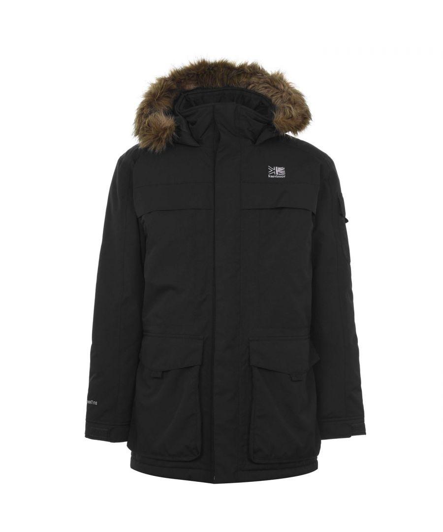 Image for Karrimor Mens Parka Jacket Hood Long Sleeve Pockets Hooded Outerwear Top