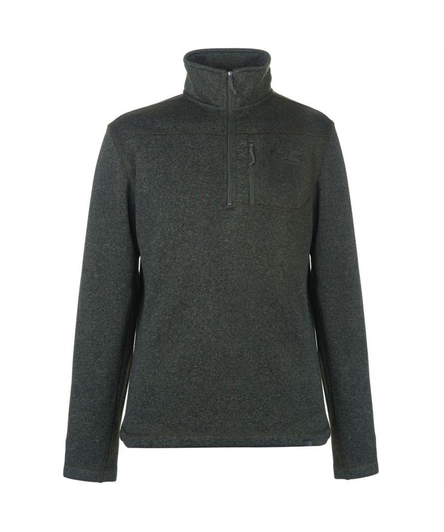 Image for Karrimor Mens Life Fleece 1/4 Zipped Casual Top Sweater Blouse Baselayer
