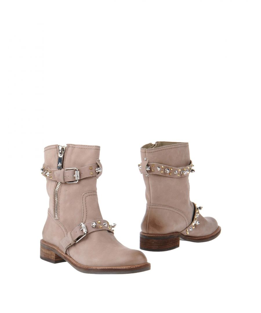 Image for Sam Edelman Dove Grey Leather Boots