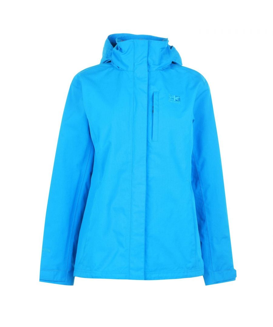 Image for Karrimor Womens Urban Jacket Ladies Weathertite Waterproof Foldaway Hood