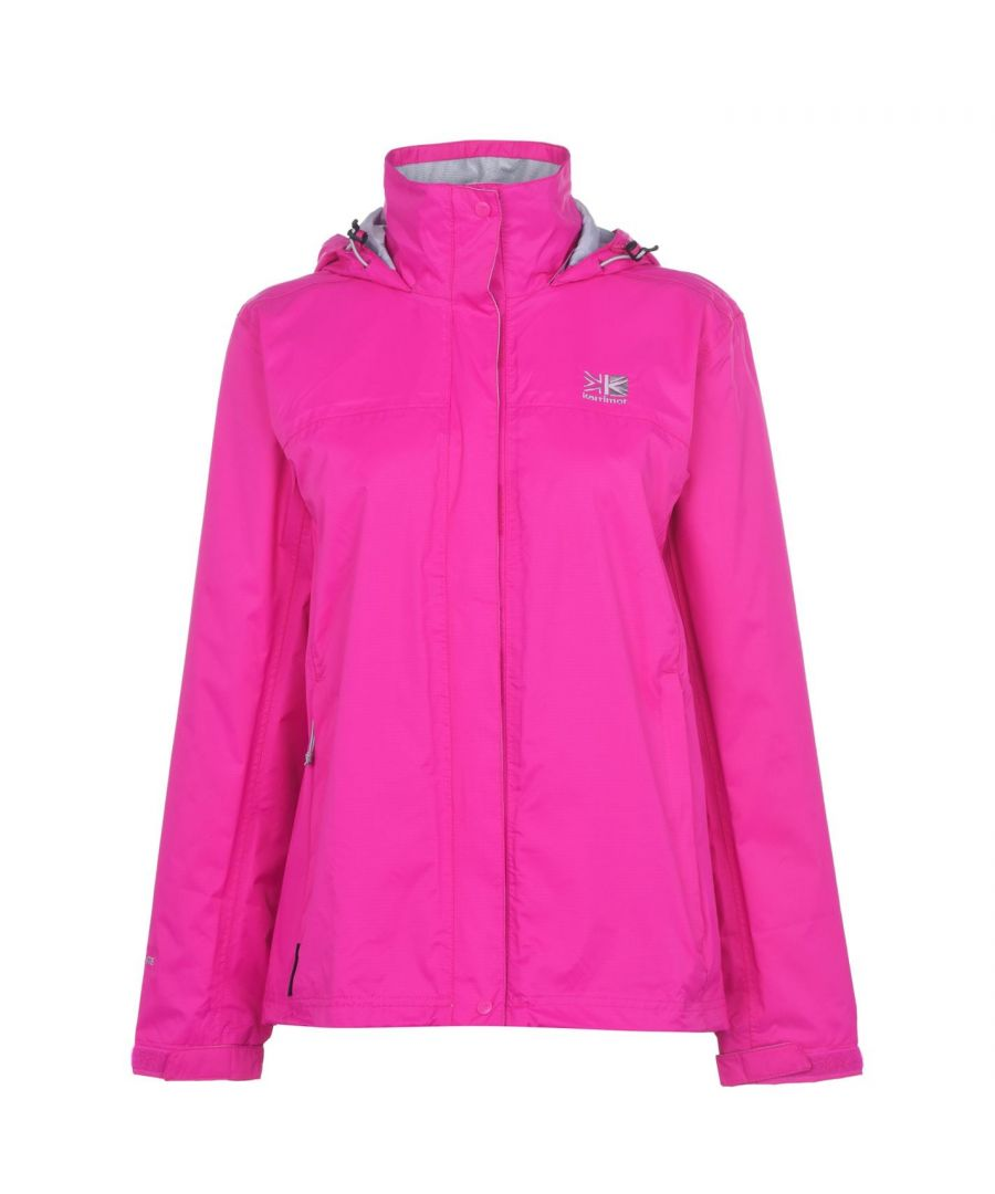 Image for Karrimor Womens Ladies Sierra Rain Jacket Water Wind Proof Lightweight New
