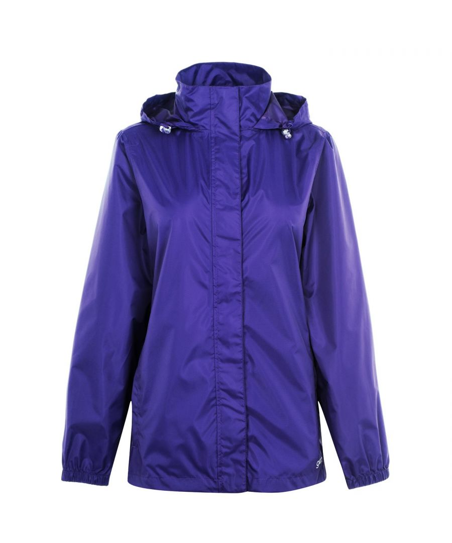 Image for Gelert Womens Ladies Packaway Jacket Outwear Coat Waterproof Full Zip Hood