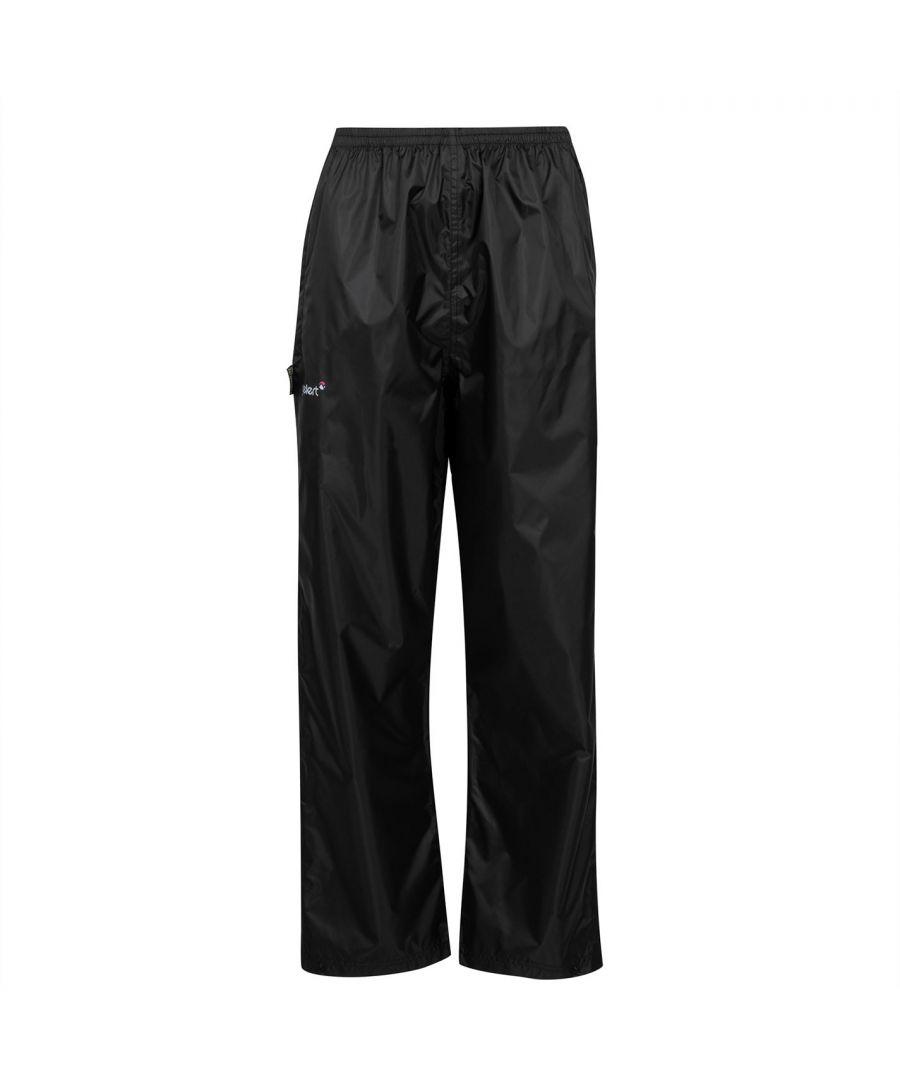 Image for Gelert Womens Ladies Packaway Waterproof Trousers Pants Bottoms Breathable