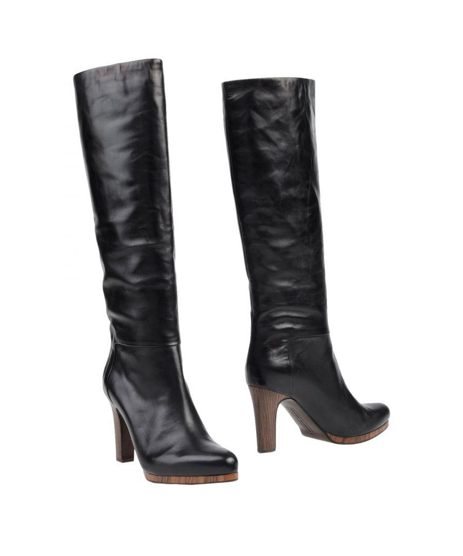 Image for Veronique Branquinho Black Leather Boots