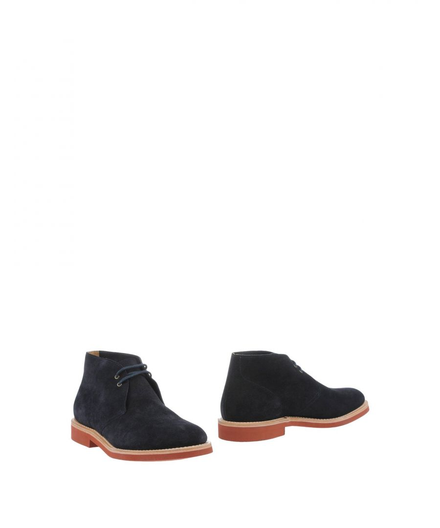 Image for Church's Dark Blue Leather Boots