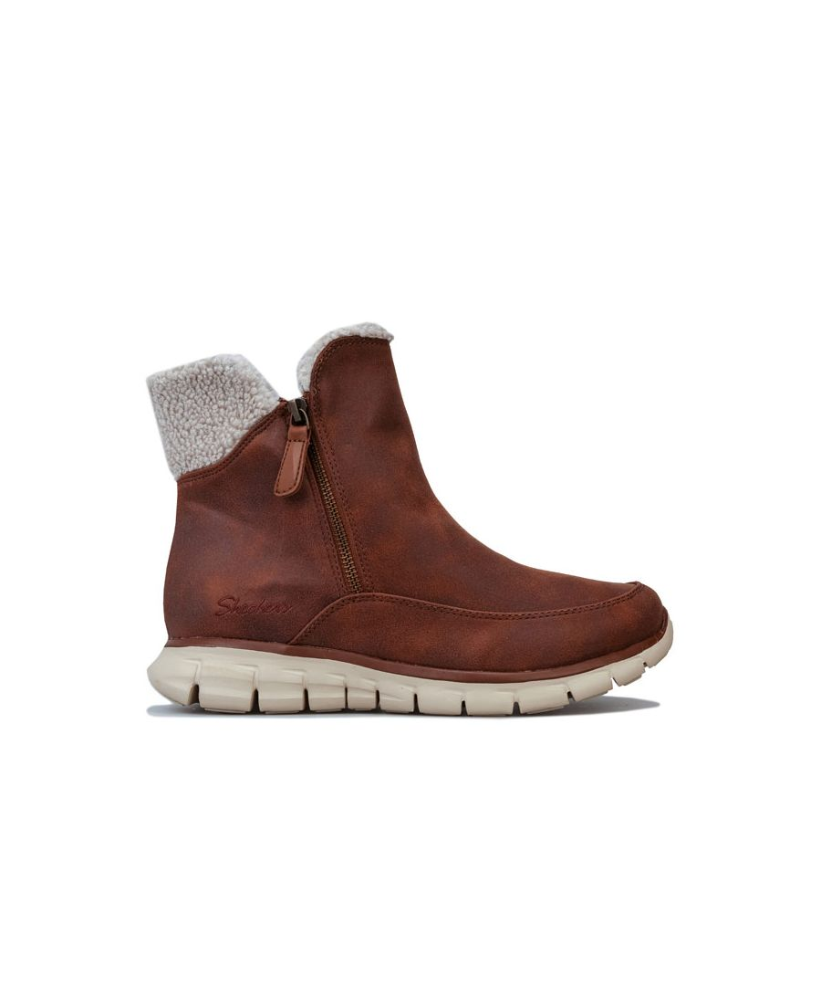 Image for Women's Skechers Synergy Collab Boots in Chestnut