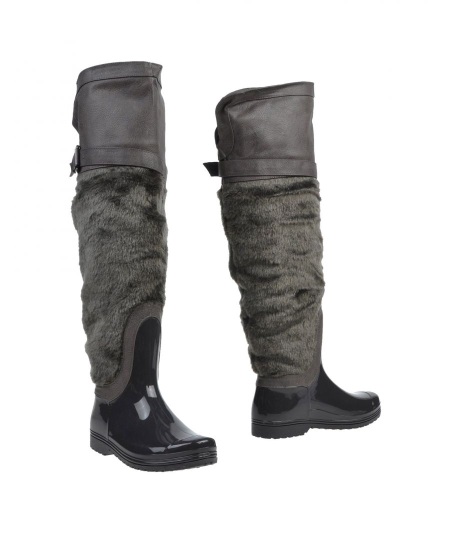 Image for Primadonna Grey Floral Design Boots