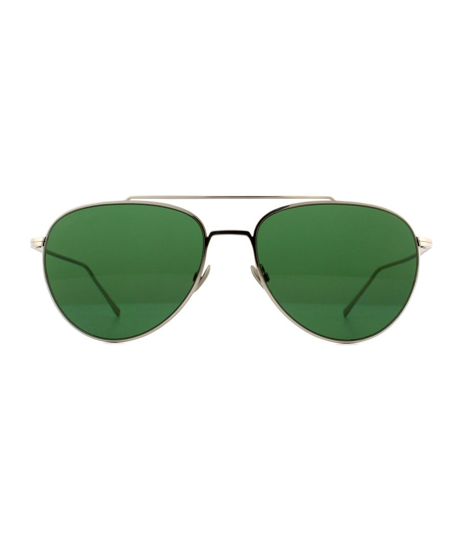 Image for Lacoste Sunglasses L195SPC 714 Gold Green