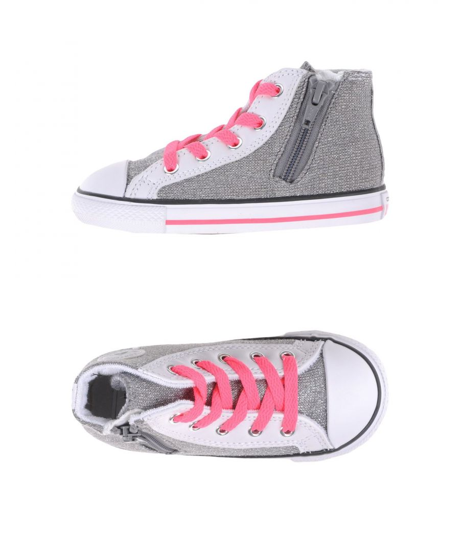 Image for Converse All Star High Tops - Grey/Pink