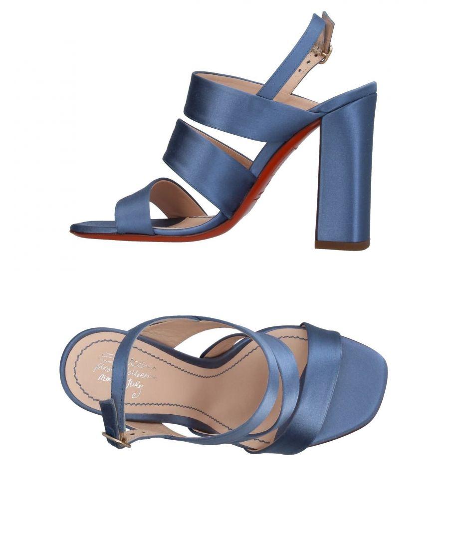 Image for Santoni Slate Blue Sandals