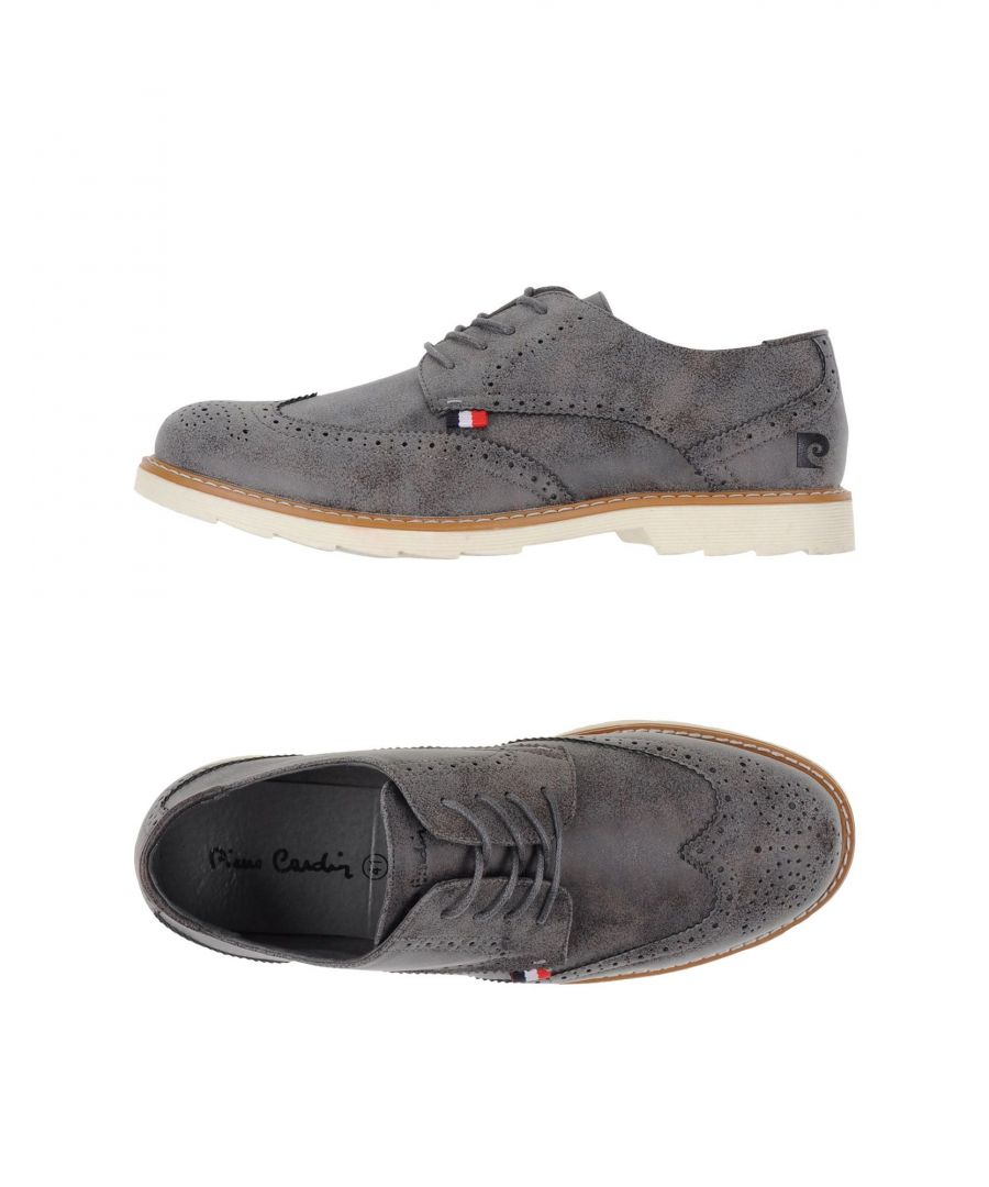 Image for Pierre Cardin Grey Lace Up Shoes