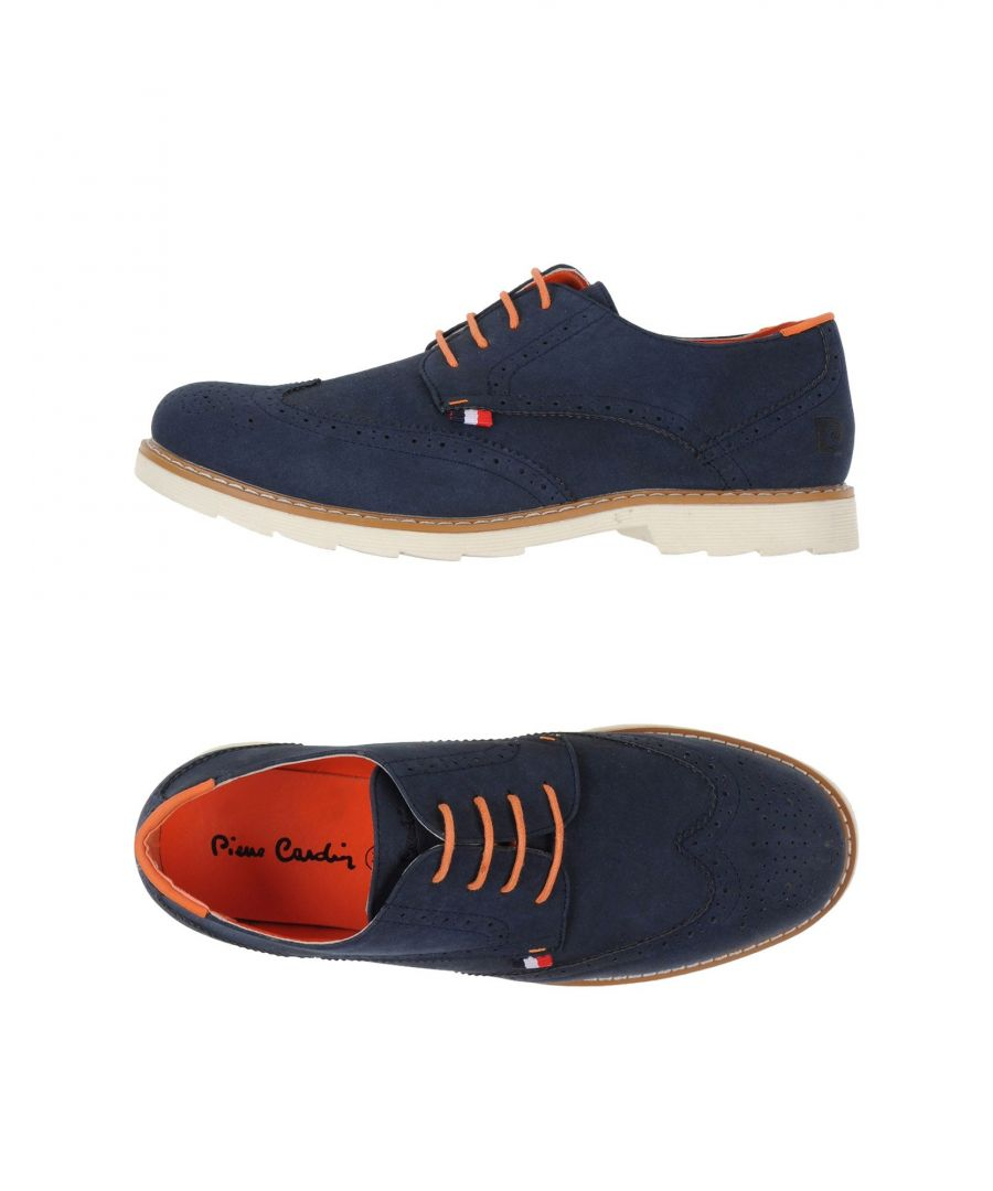 Image for Pierre Cardin Dark Blue Lace Up Shoes