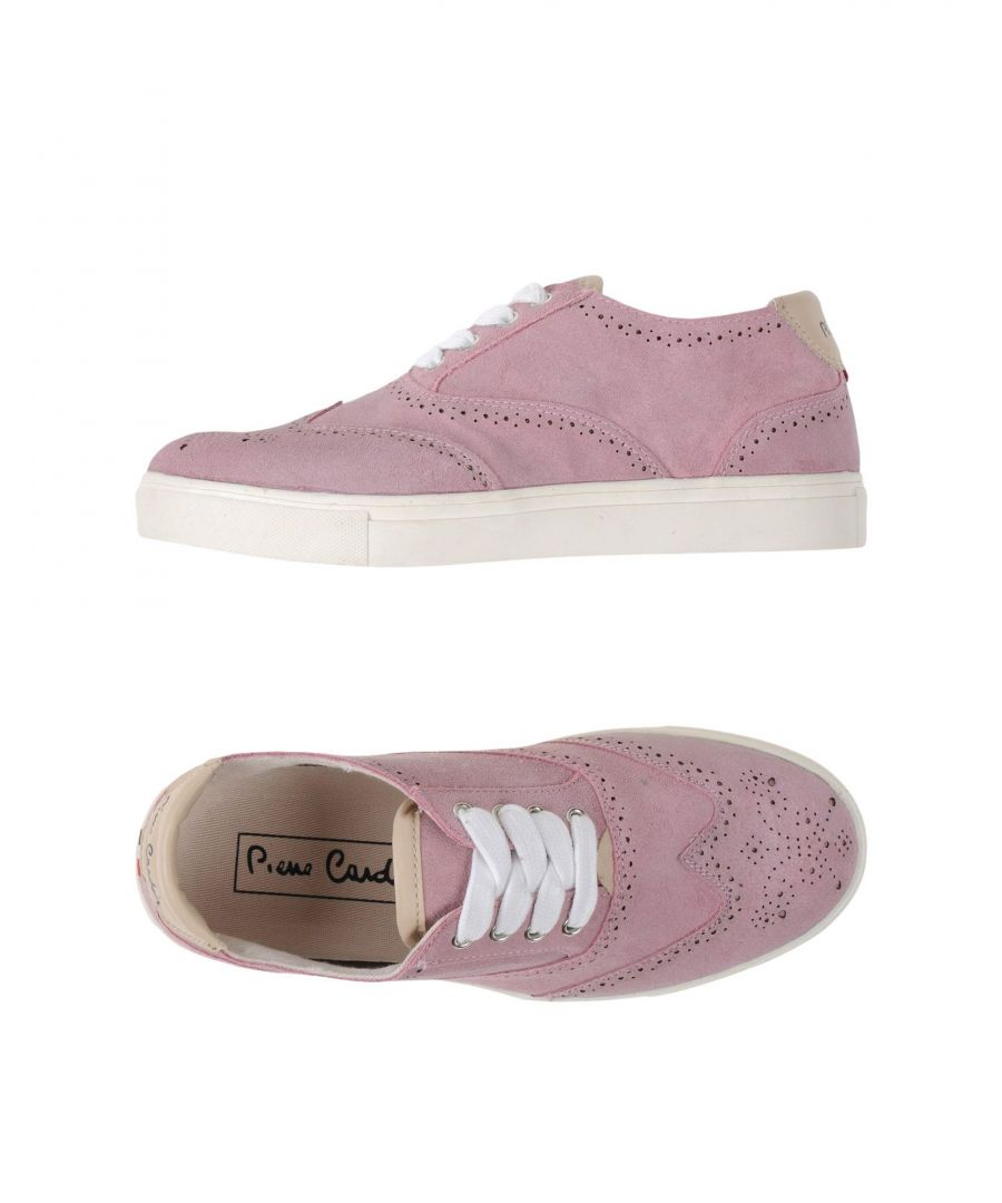 Image for Pierre Cardin Pink Leather Sneakers