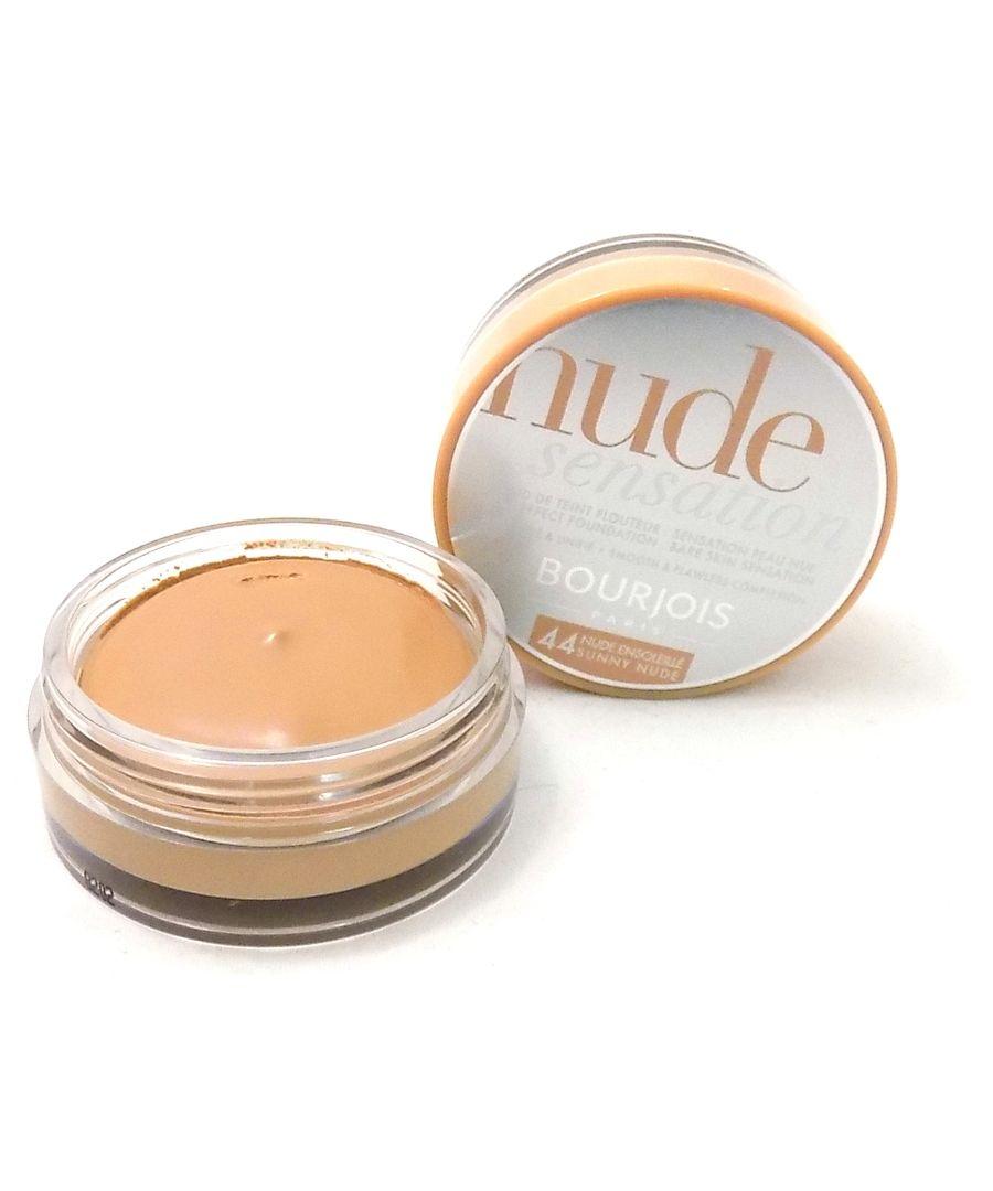 Image for Bourjois Nude Bareskin Sensation Foundation 44 Sunny Nude 18ml New & Sealed