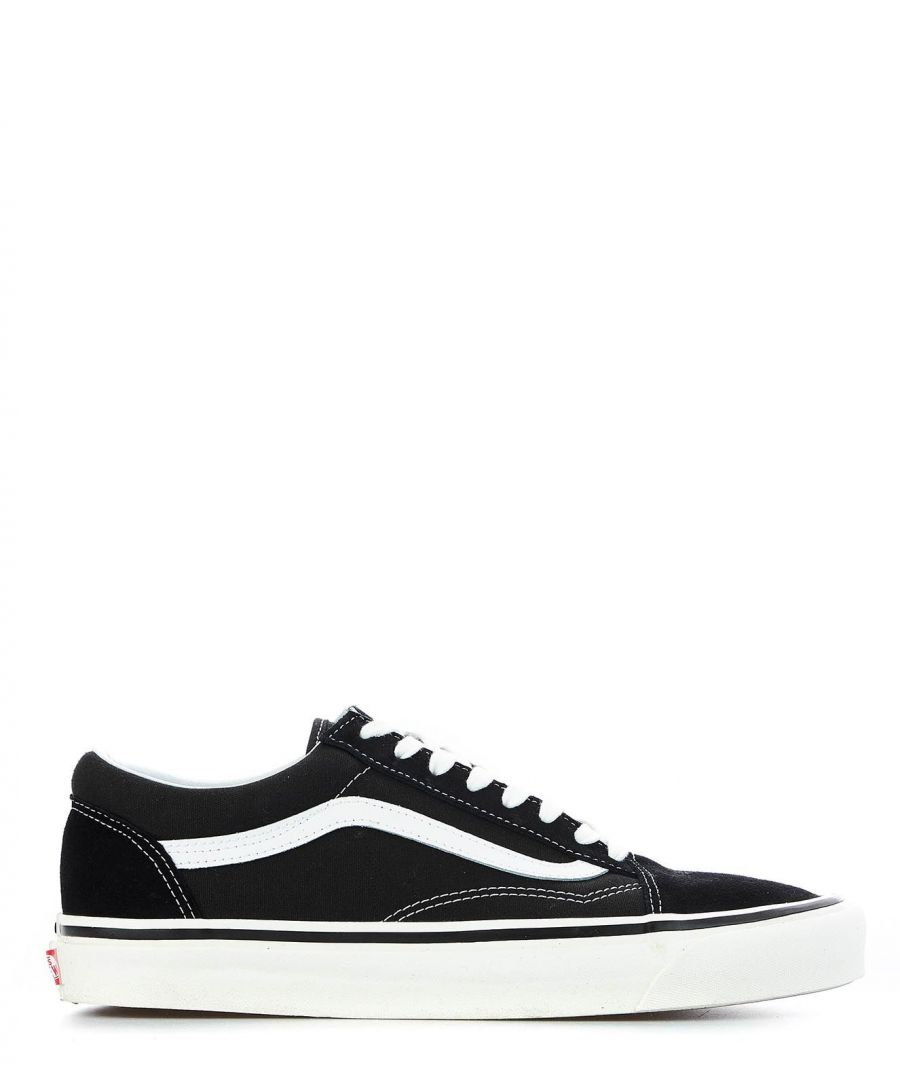 Image for VANS MEN'S VN0A38G2PXC1U BLACK FABRIC SNEAKERS