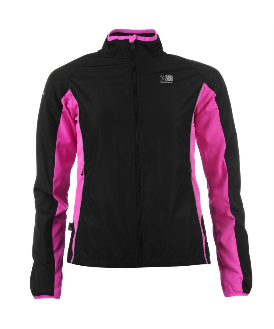 Image for Karrimor Womens Running Jacket Performance Coat Top Long Sleeve Breathable