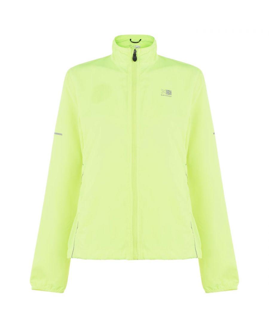 Image for Karrimor Womens Running Jacket Performance Coat Top Long Sleeve Breathable