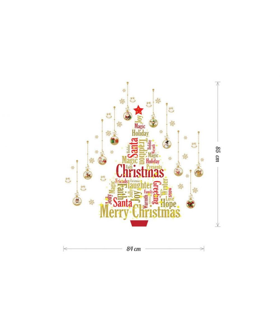 Image for WFXC9320 - COM - WS4026 - English Quote + WS3036 - Magic Glow in Dark English Quotes + WS4029 - Matt Gold Christmas Ornament