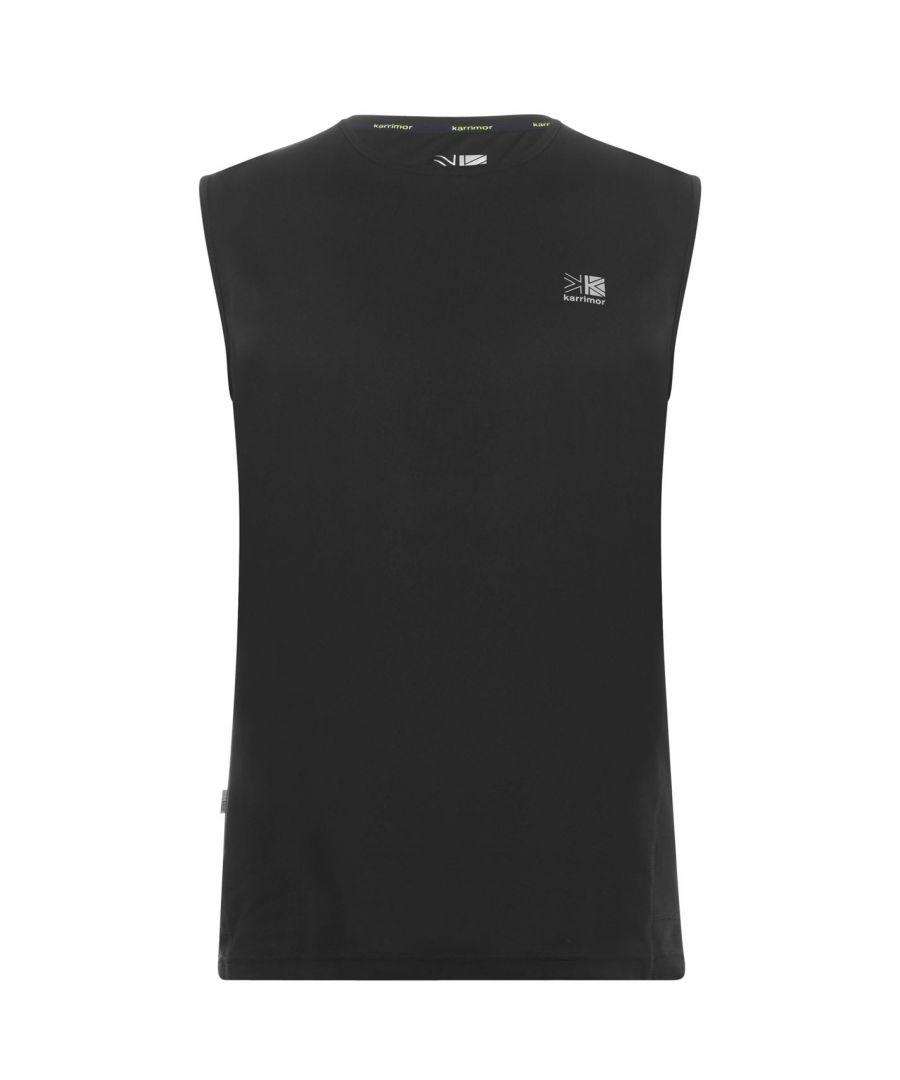 Image for Karrimor Mens Sleeveless Crew Neck Vest Soft Fabric Lightweight T-Shirt Tee Top