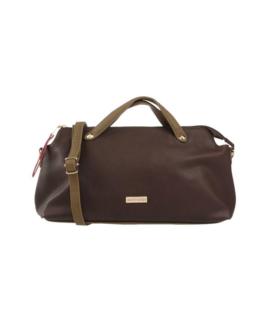 Image for Pierre Cardin Dark Brown Maxi Bag