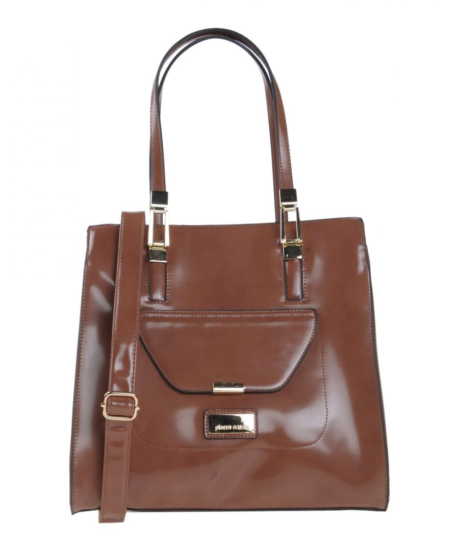 Image for Pierre Cardin Brown Faux Leather Shopper Bag