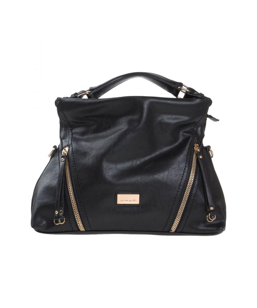 Image for Pierre Cardin Black Faux Leather Shopper Bag