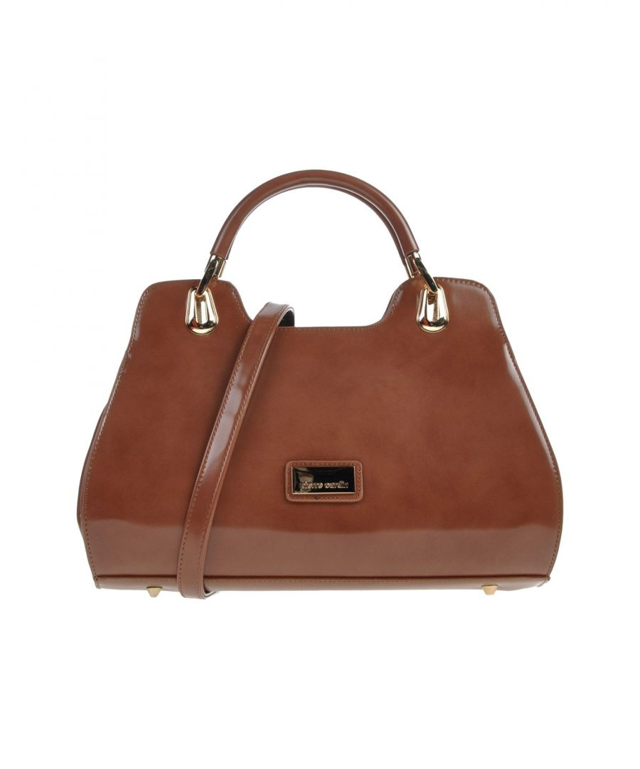 Image for Pierre Cardin Brown Faux Leather Satchel Bag