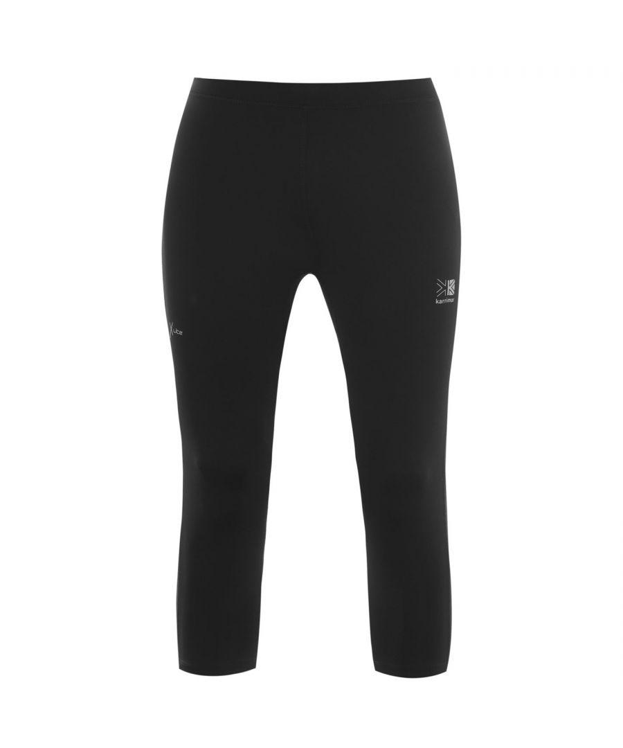 Image for Karrimor Mens X Capri Pants Tights Trousers Activewear Three Quarter Shorts