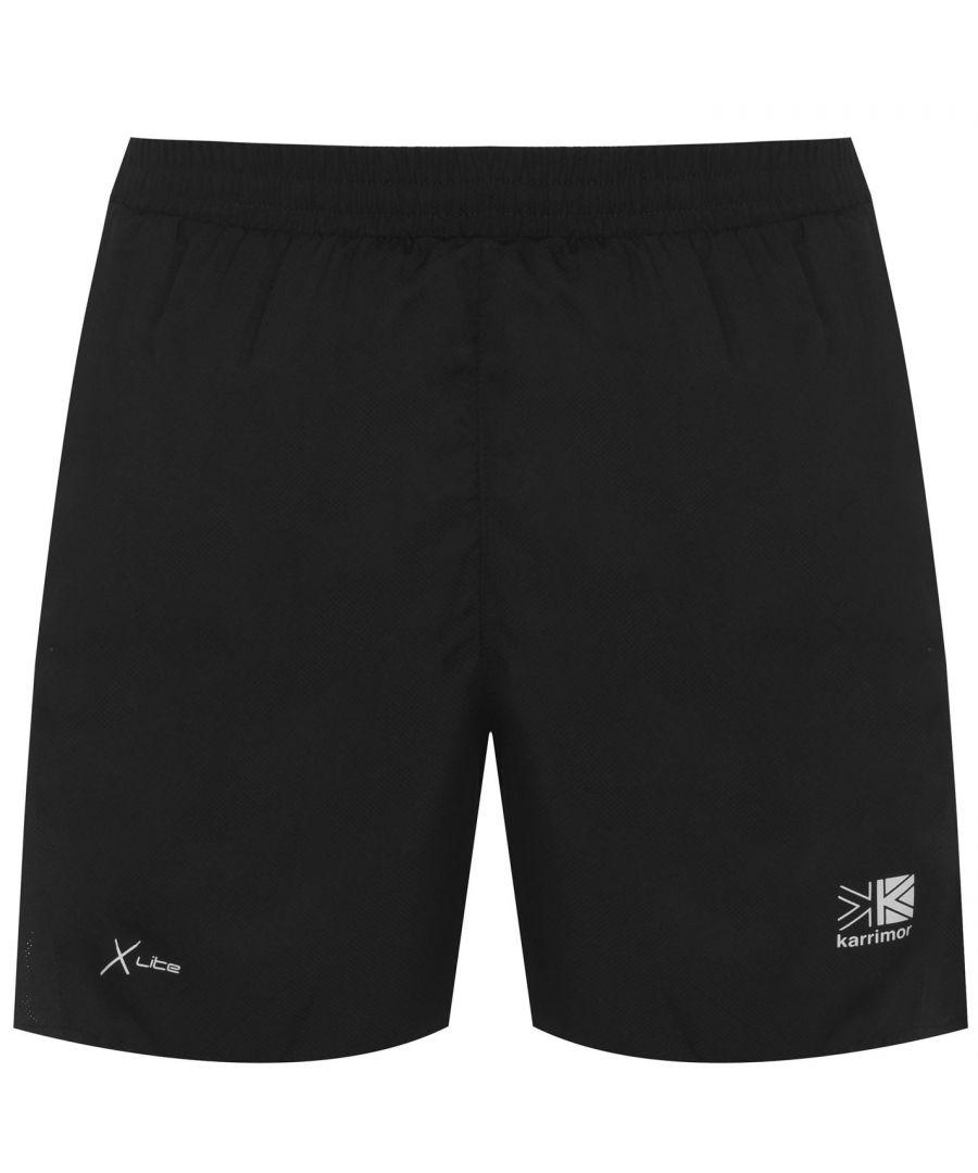 Image for Karrimor Mens 5inch Running Shorts Lightweight Elasticated Waistband Breathable