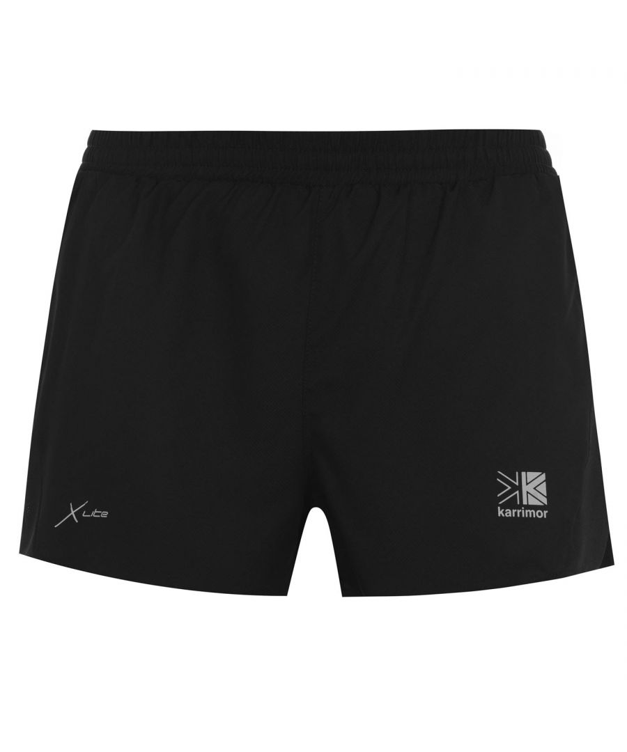 Image for Karrimor Mens 3inch Shorts Lightweight Elasticated Waistband Sport Training