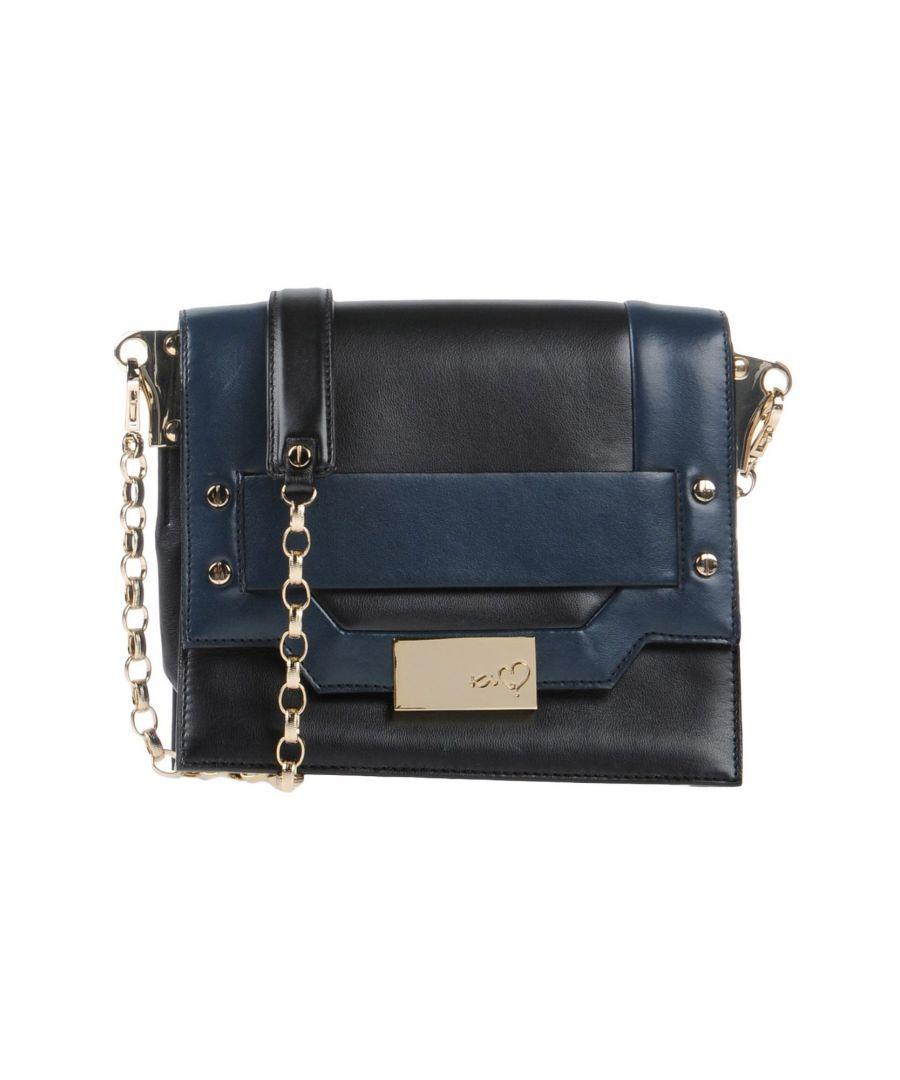 Image for Ki6? Who Are You? Black Faux Leather Mini Handbag