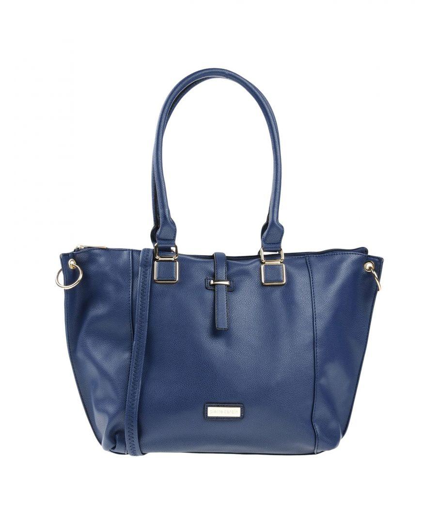Image for Pierre Cardin Dark Blue Faux Leather Shoulder Bag