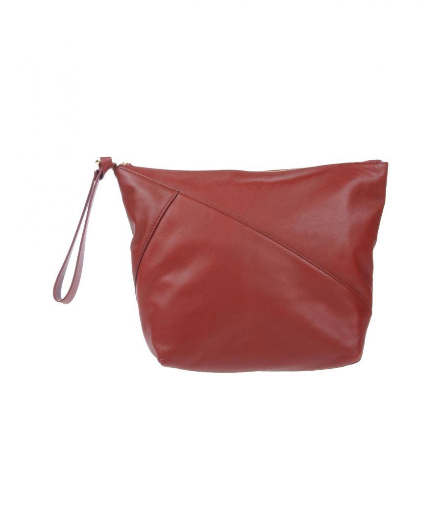 Image for Diane Von Furstenberg Cocoa Faux Leather Pouch