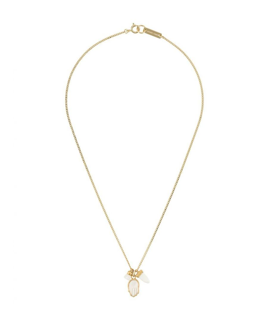 Image for ISABEL MARANT WOMEN'S CO028520P023B23EC GOLD METAL NECKLACE