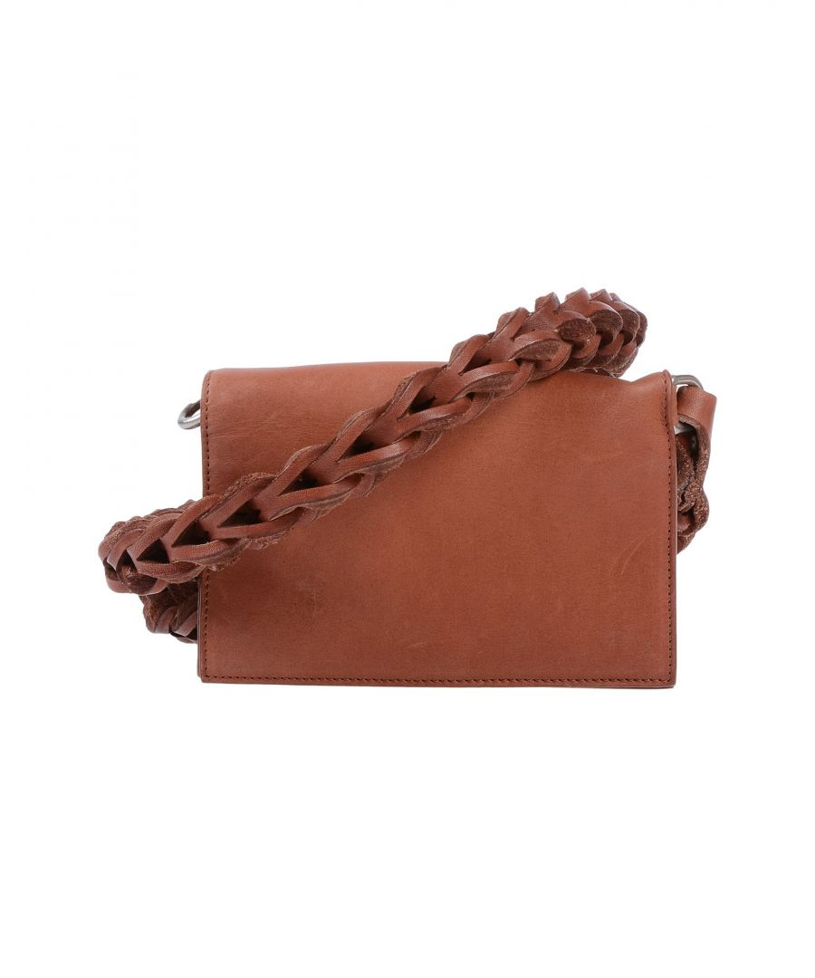 Image for Rick Owens Tan Leather Messenger Bag