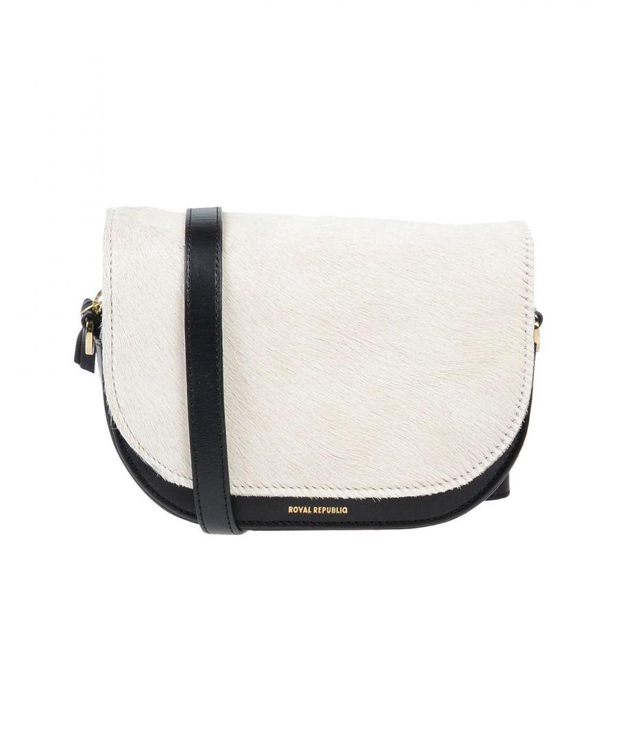 Image for Royal Republiq White Leather Satchel Bag