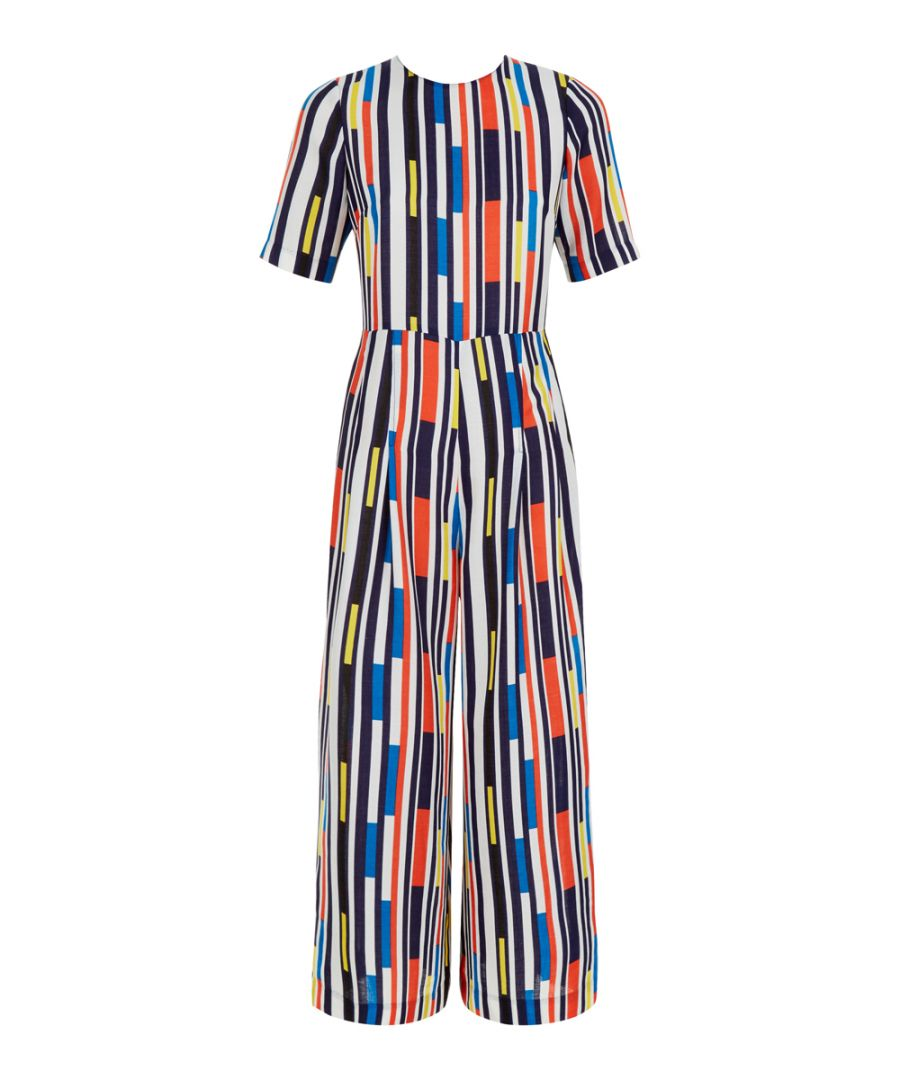 Image for Glorious Graphic Geometric Jumpsuit