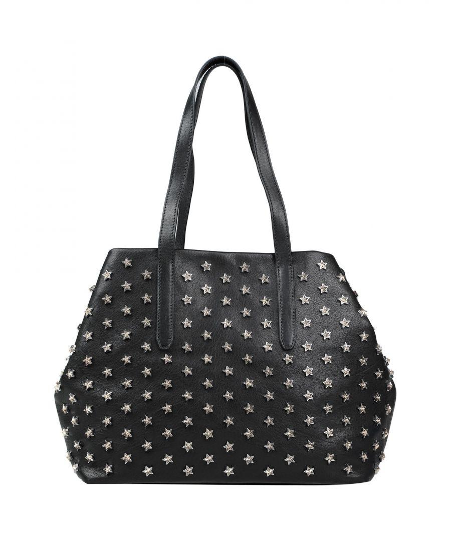 Image for Jimmy Choo Woman Handbags Black Leather