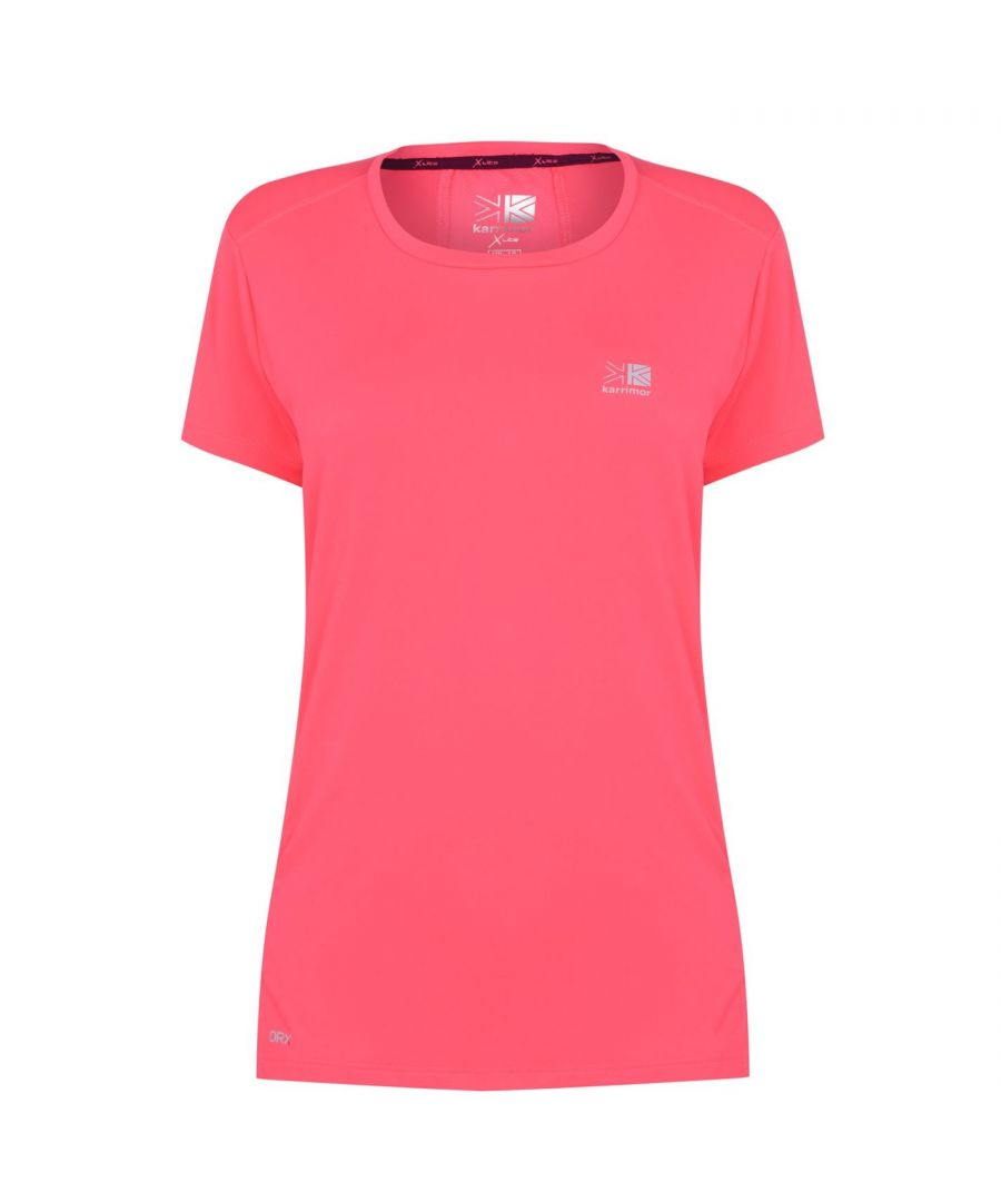 Image for Karrimor Womens X Racer T Shirt Short Sleeve Performance Tee Top Crew Neck