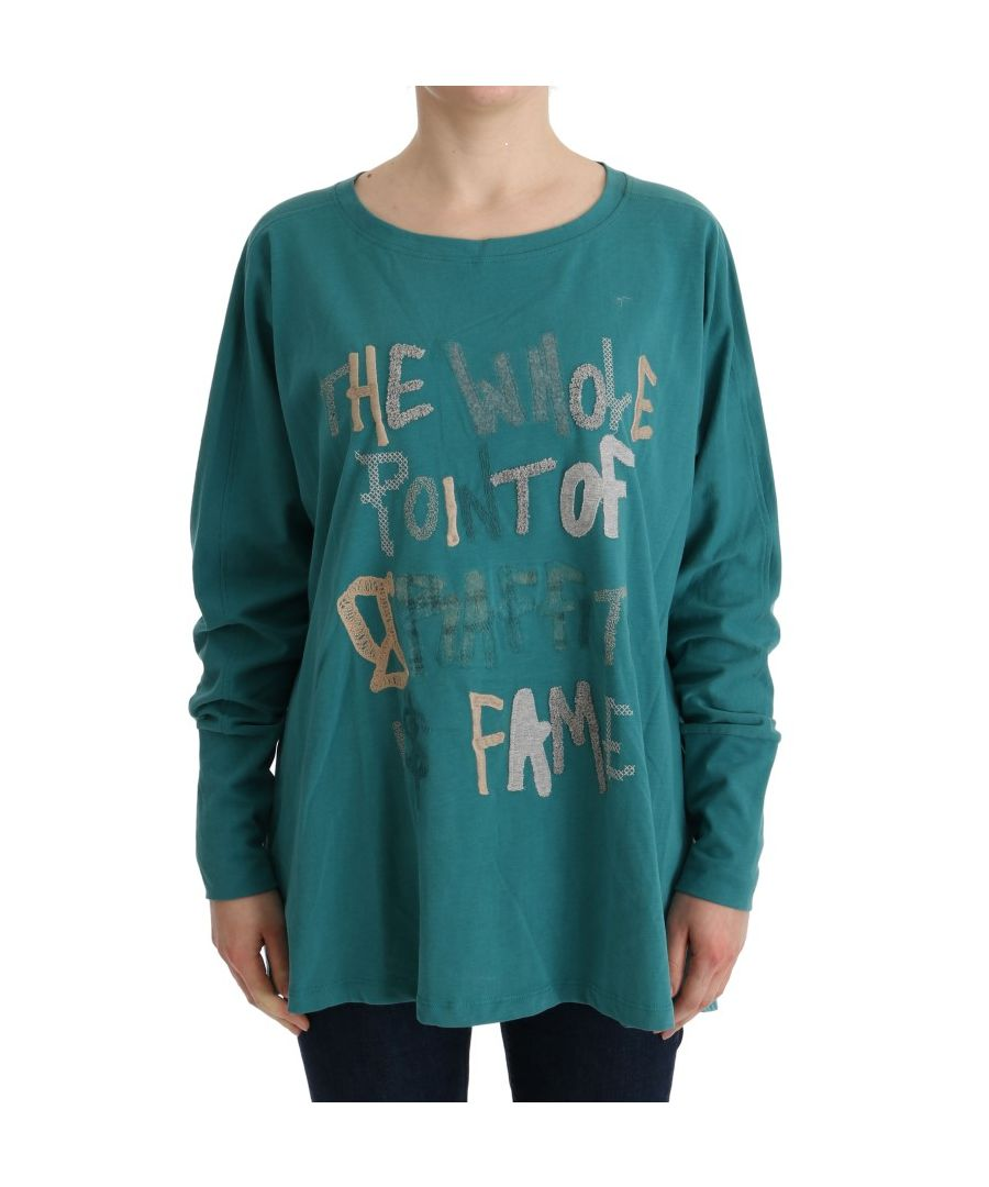 Image for Galliano Green Cotton Oversized Sweater