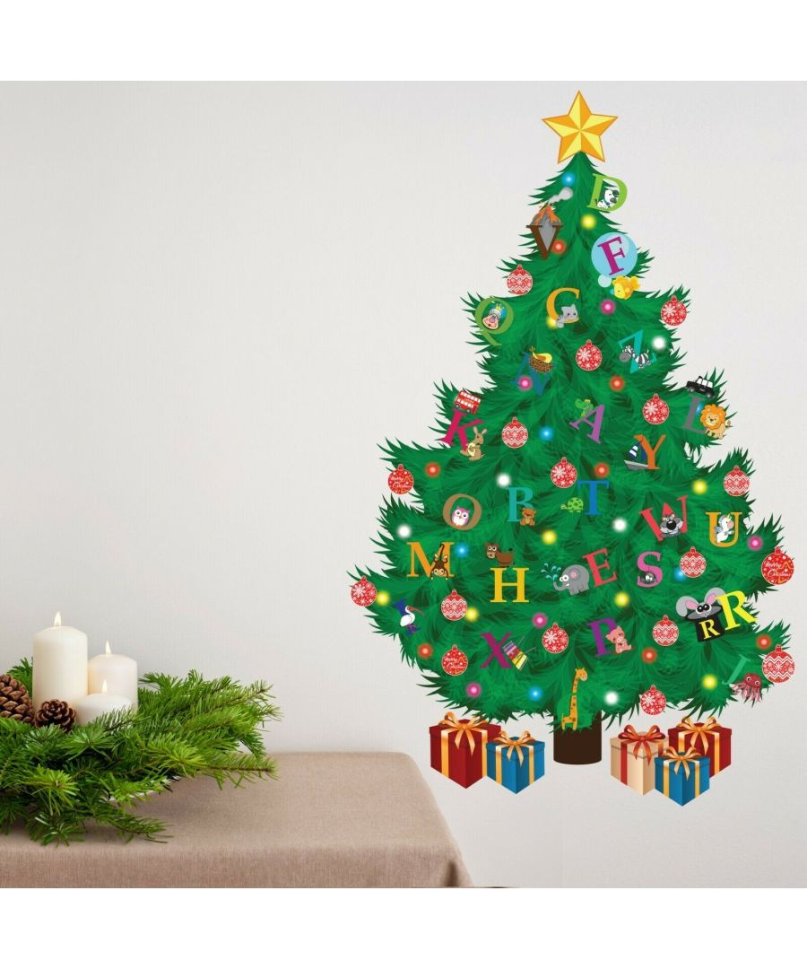 Image for WFXC8301 - COM - WS9064 + WS3012  Traditional Kids Alphabet Christmas Tree