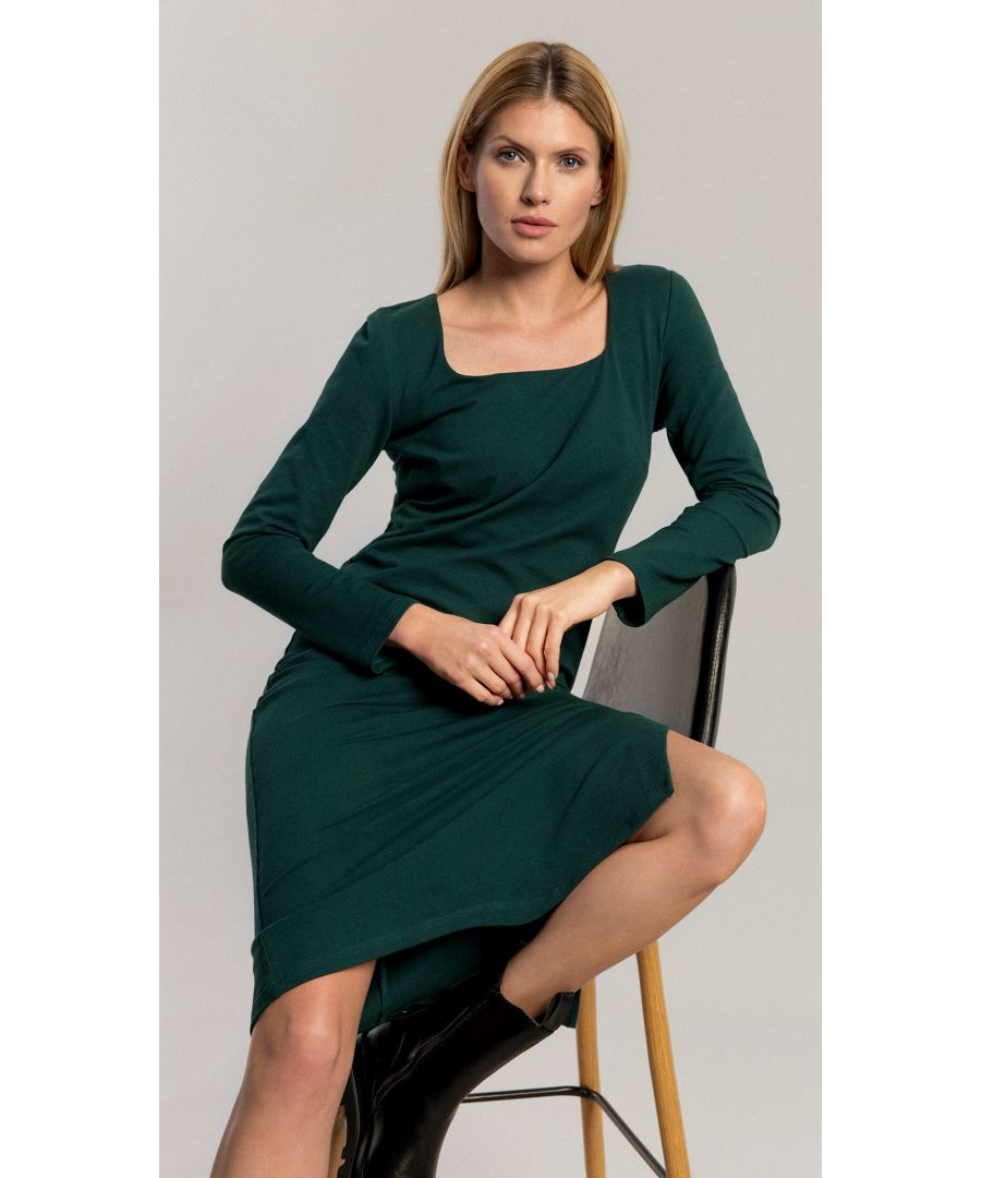 Image for Judy Bottle Green Dress