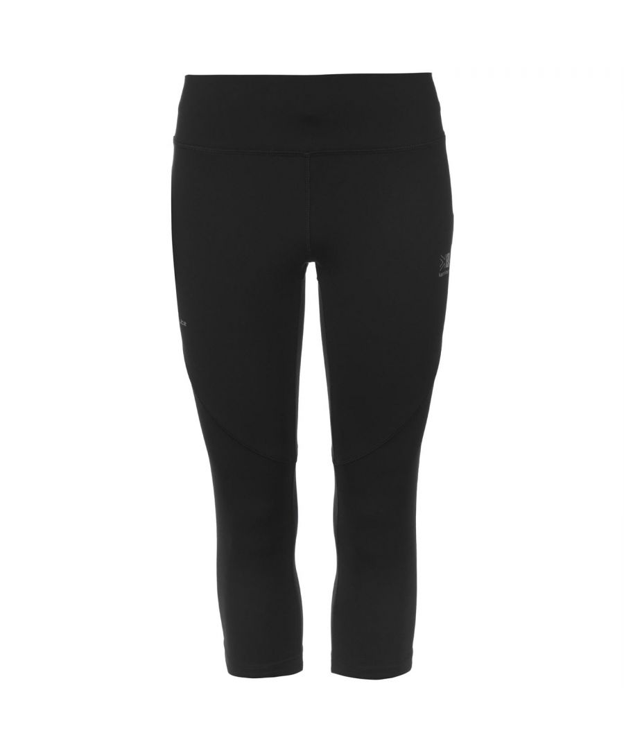 Image for Karrimor Womens X Running Capri Pants Tights Trousers Activewears Breathable