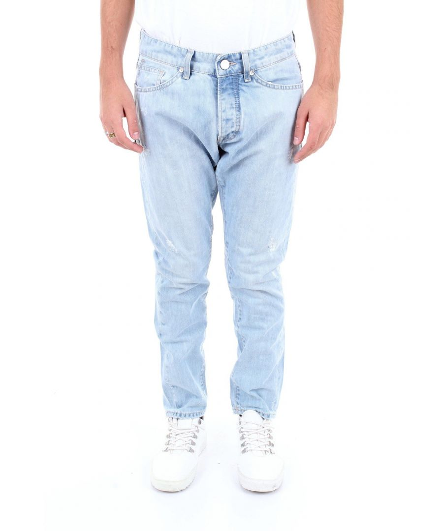 Image for MICHAEL COAL MEN'S MARCK1002W165CJEANS BLUE COTTON JEANS