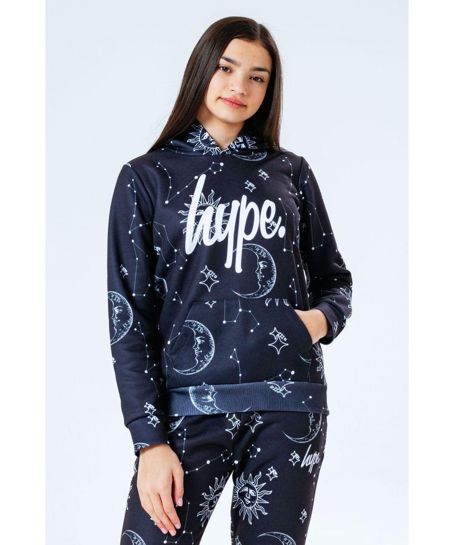 Image for Hype Dark Mystic Aop Kids Pullover Hoodie