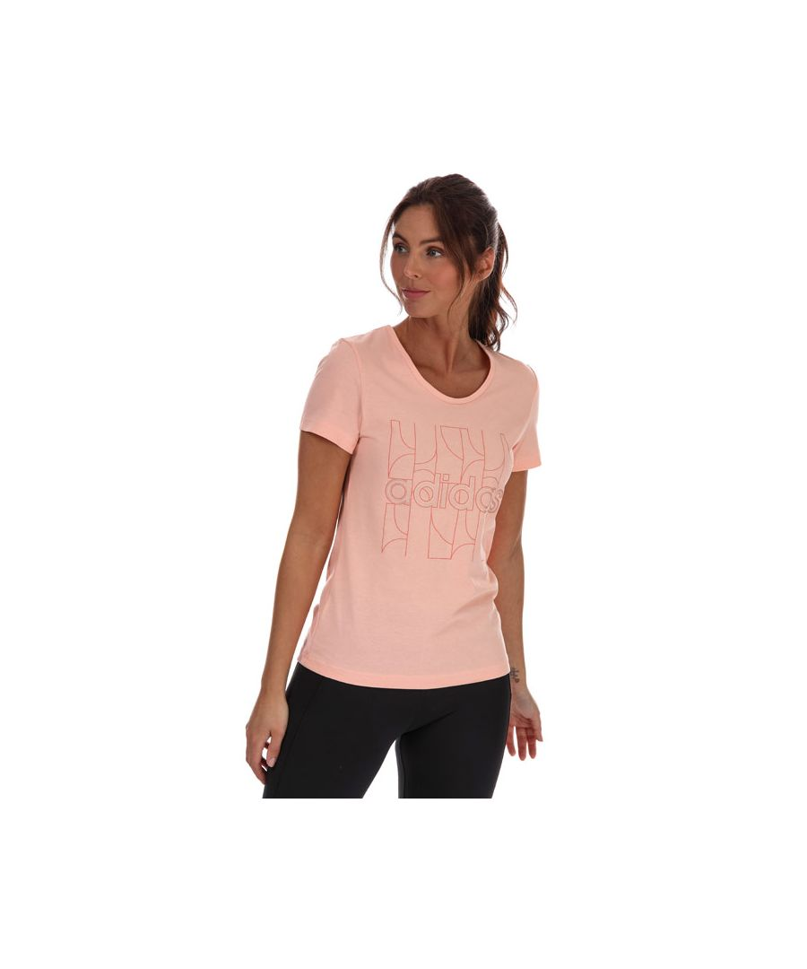 Image for Women's adidas Motion T-Shirt in Pink